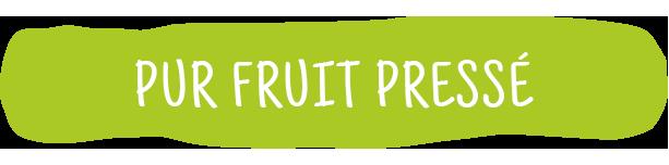 Pur fruit pressé