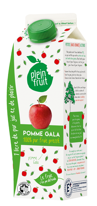 Pur jus de pomme Gala