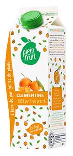 Plein Fruit jus de clémentine 100% fruit pressé