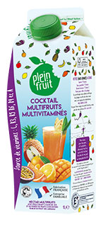Cocktail multi fruits multivitaminés