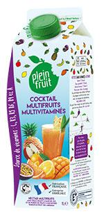 Cocktail multi fruits multivitaminés