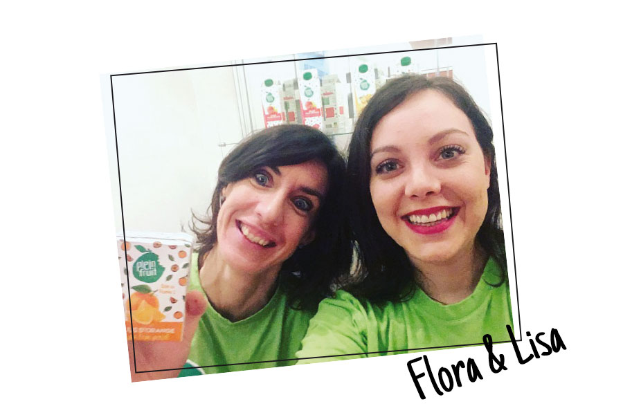 Flora & Lisa, la communication plein fruit, c'est elles!