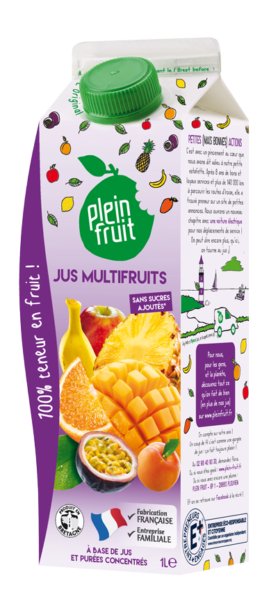 Jus multifruits