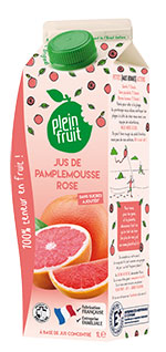 Plein Fruit jus de pamplemousse rosé 100% fruit