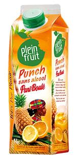 Plein fruit Punch sans alcool pani-boulé