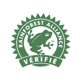 Plein fruit soutien rainforest alliance